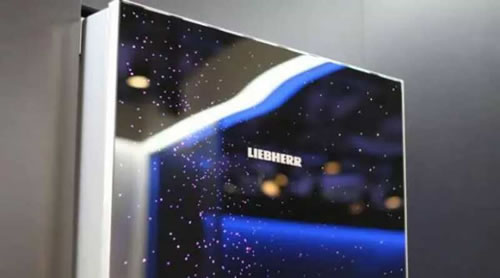 LIEBHERR冰箱CoolVision酷视设计系列:MilkyWay银河