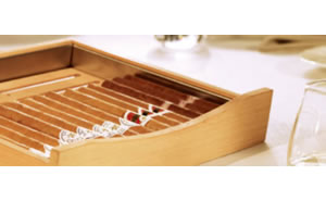 ZKes453雪茄柜西班牙雪松实木