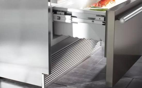 LIEBHERR嵌入式冰箱通风要求
